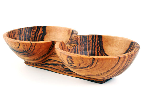 Double Condiment Bowl-The Ethical Olive