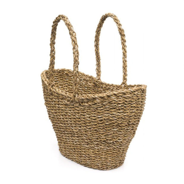 Woven Market Basket-The Ethical Olive