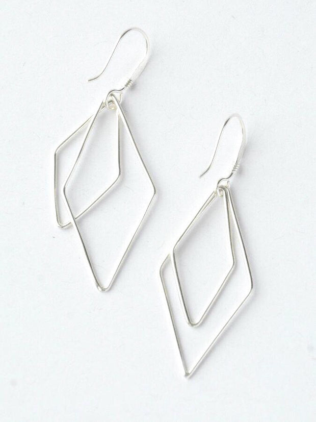 Rhombus Earrings-The Ethical Olive