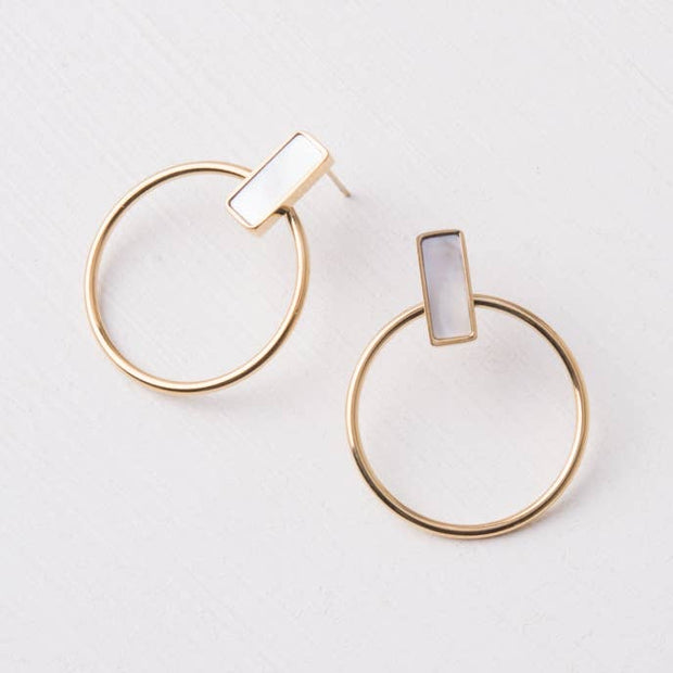 Adalee Earrings-The Ethical Olive