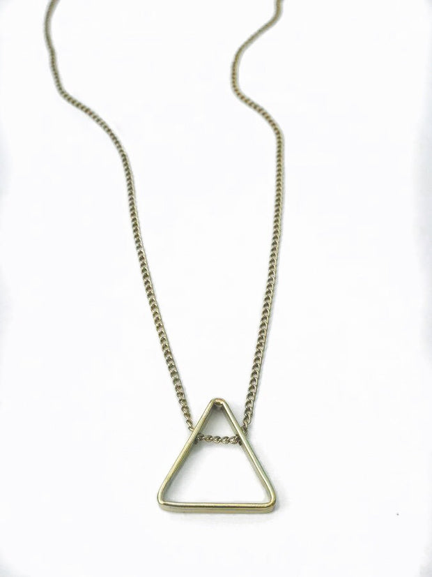 Pyramid Necklace-The Ethical Olive
