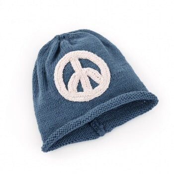 Peace Beanie-The Ethical Olive