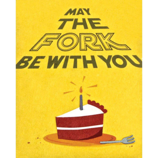 """May The Fork Be With You"" Card-The Ethical Olive"