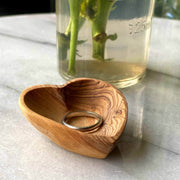 Olive wood Mini Heart Bowl