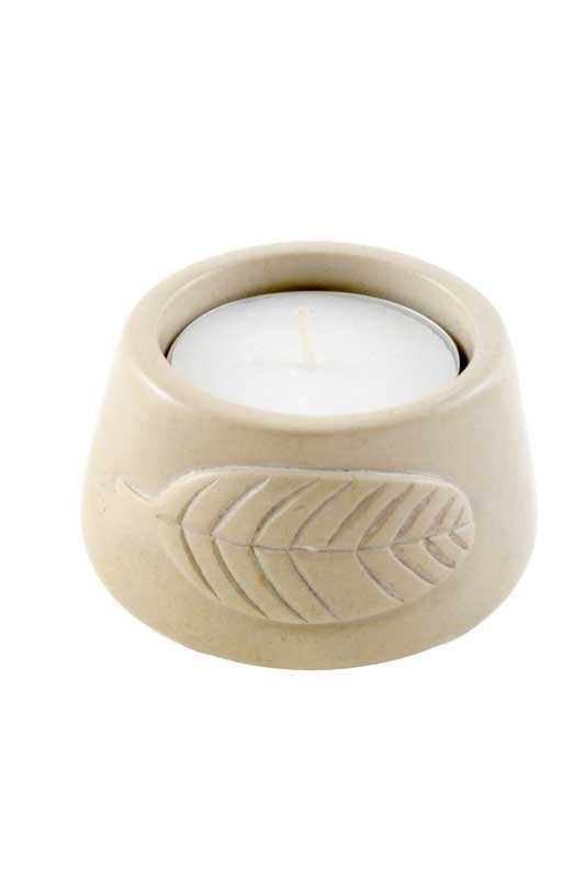 Leaf Candleholder-The Ethical Olive
