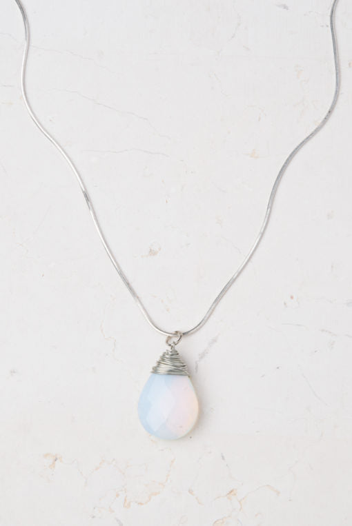 Moonstone Hope Pendant-The Ethical Olive