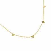 Resilience Triangle Necklace-The Ethical Olive