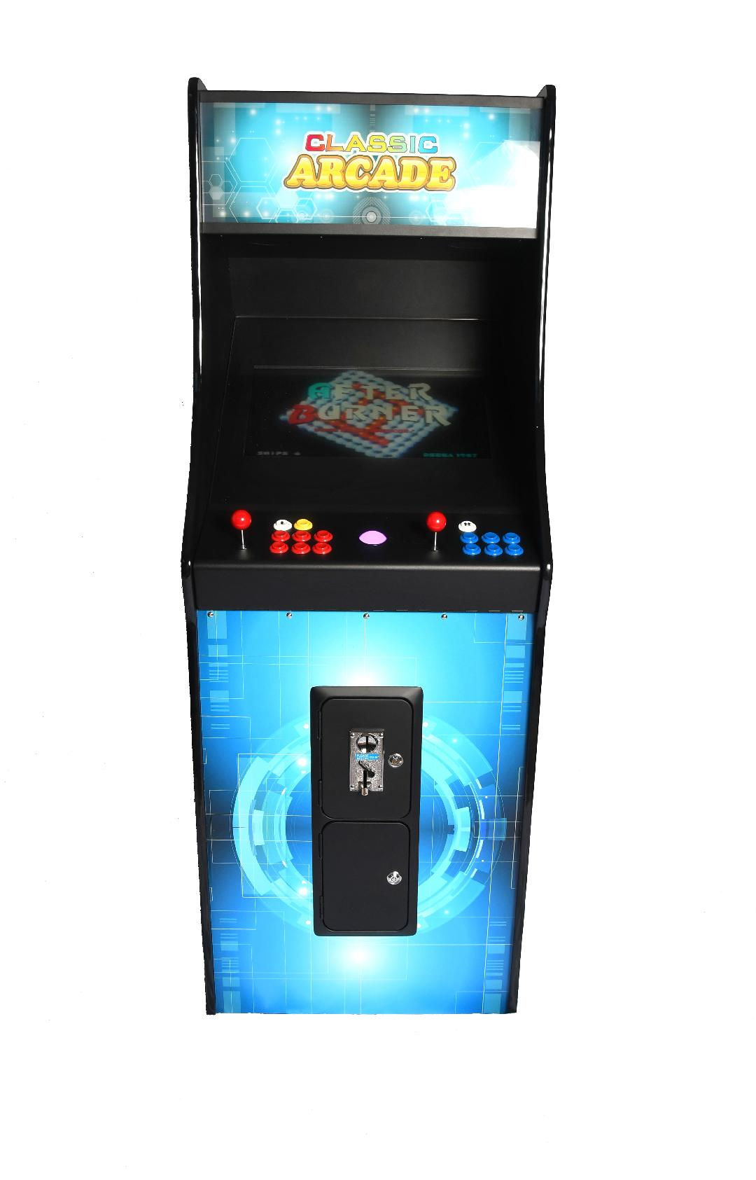 Full-Sized Upright Arcade Game With Trackball feat. 3,000 Games!