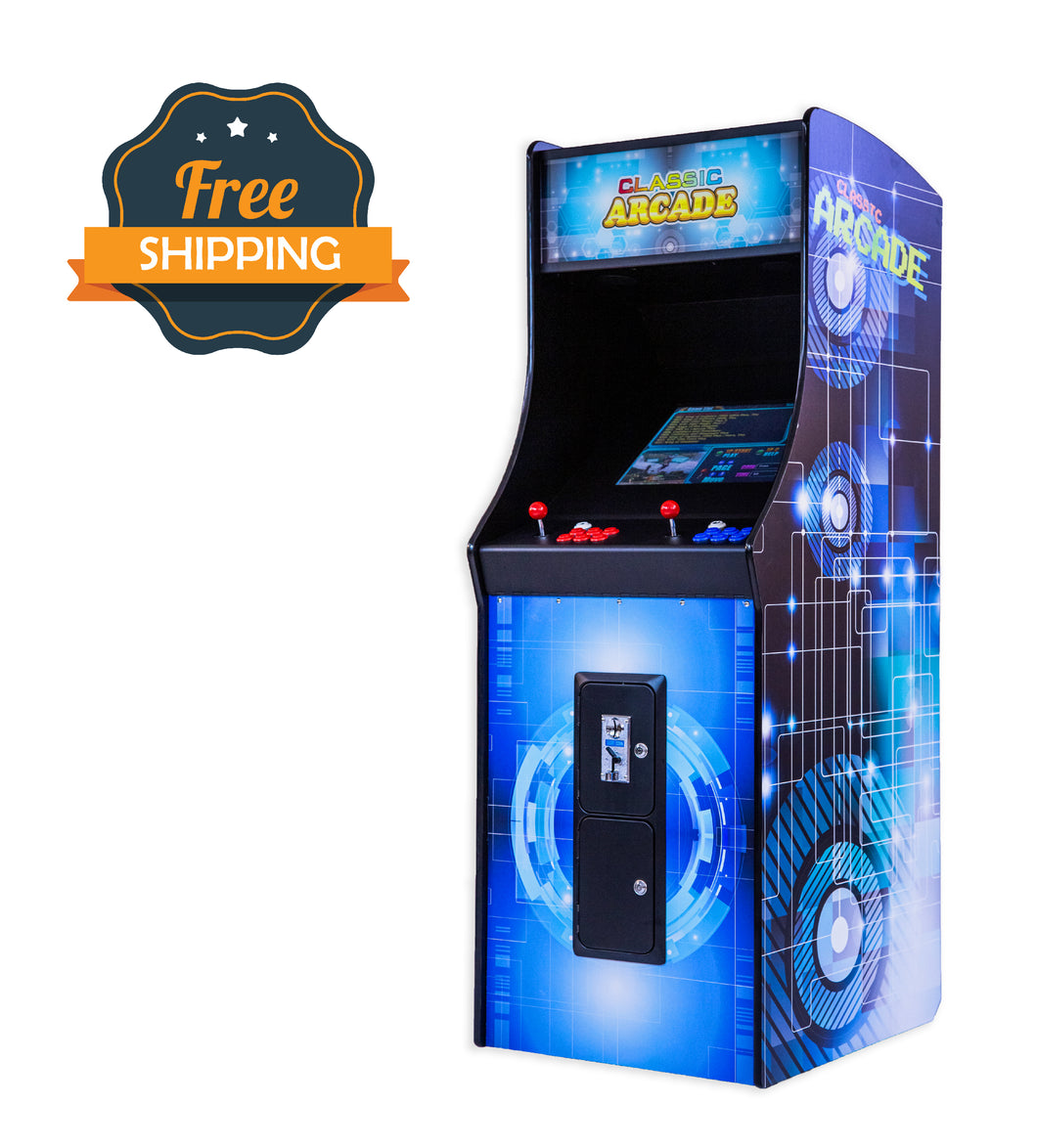 Full-Sized Upright Arcade Game with 750 Midway Games