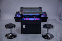 Load image into Gallery viewer, Full-sized, 3 Sided, Cocktail Table Arcade Game With 1,162 Classic, Golden Age, and Midway Games
