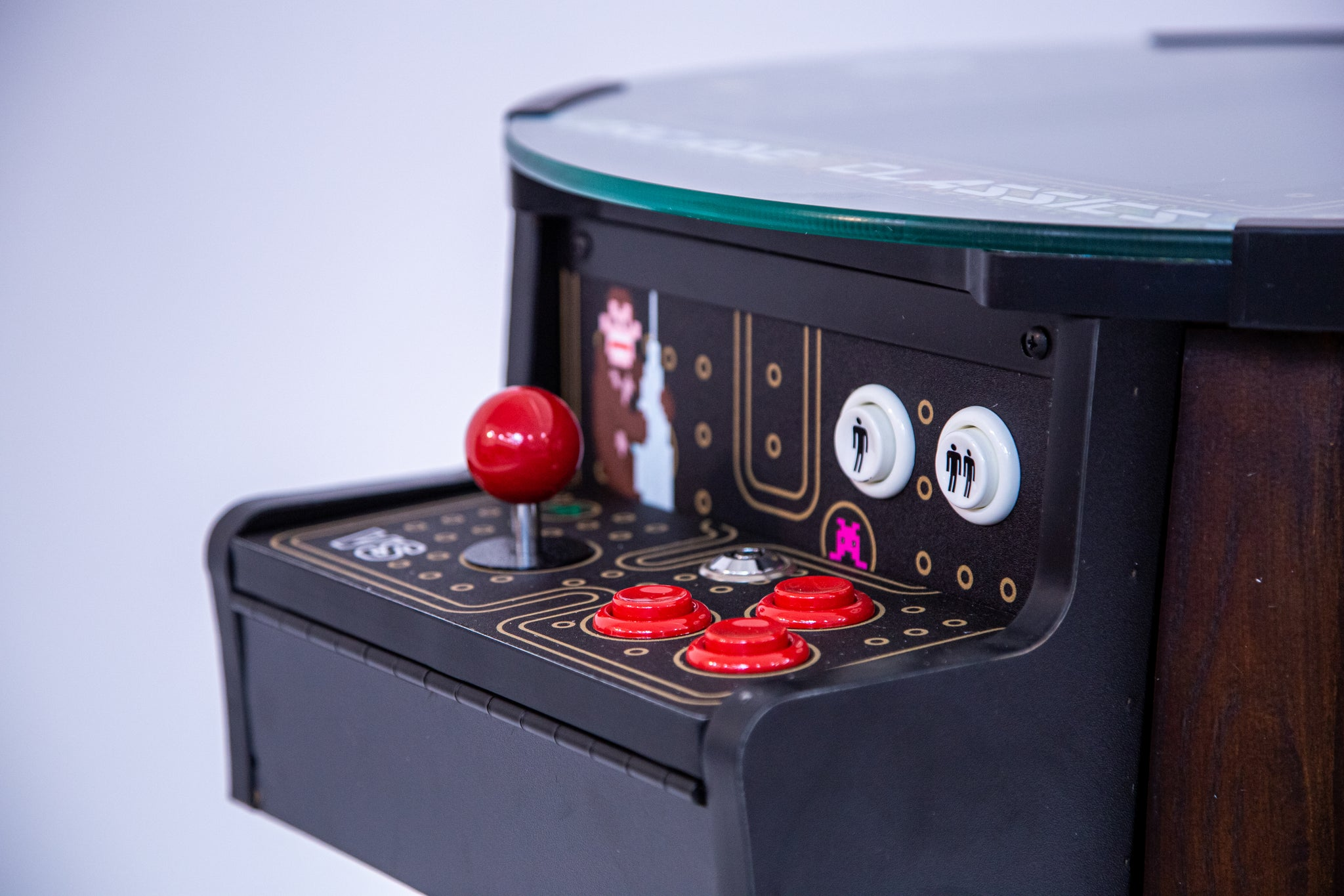 Barrel Arcade Game feat. 60 Classic Games