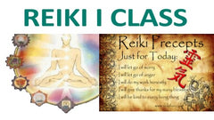 Reiki Classes/Attunements