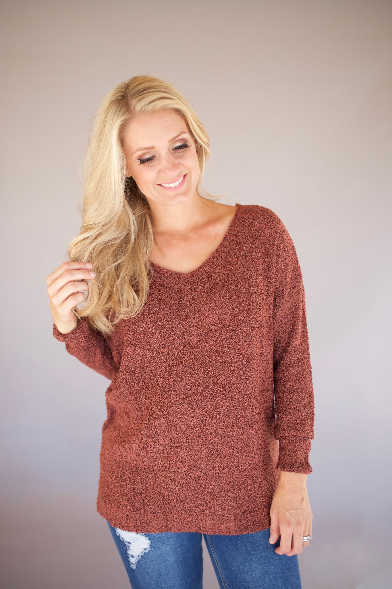Soft V-Neck Sweater