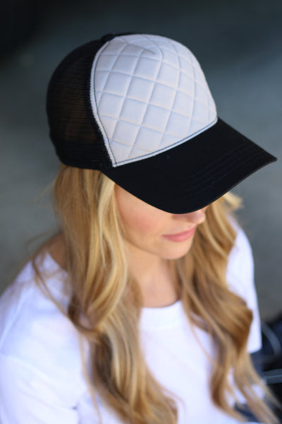 Quilted Hats (3 Colors)