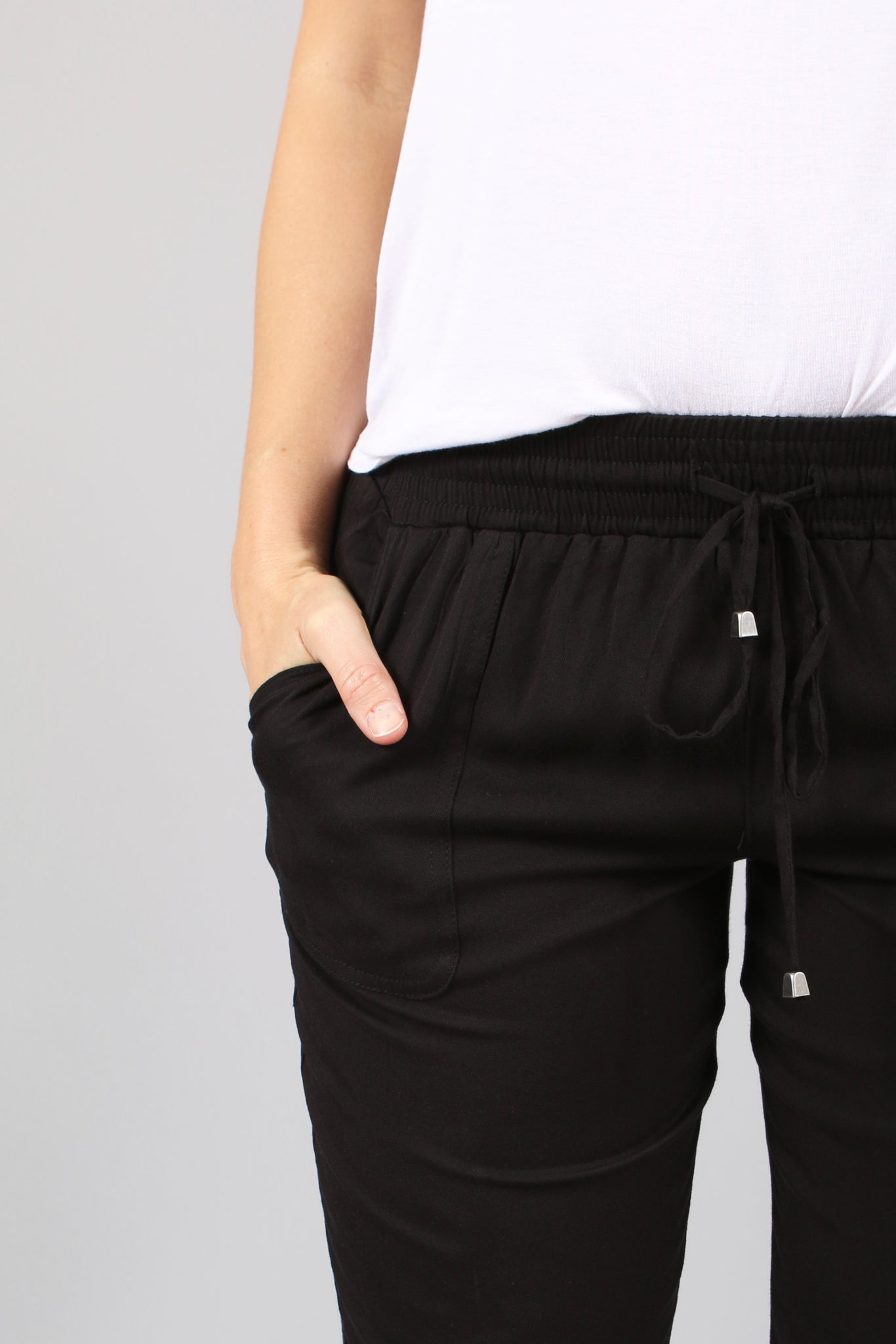 Elastic Cuffed Trouser (3 Colors)
