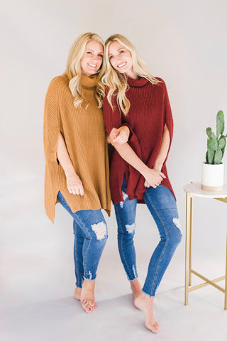 Turtle Neck Sweater (2 Colors)