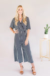 Everyday Stripped Jumpsuit