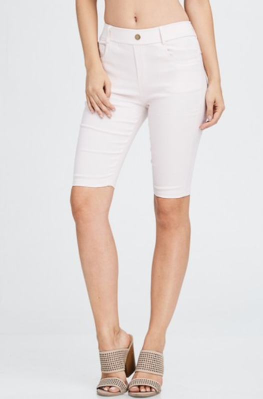 Bermuda Shorts (Dusty Pink)