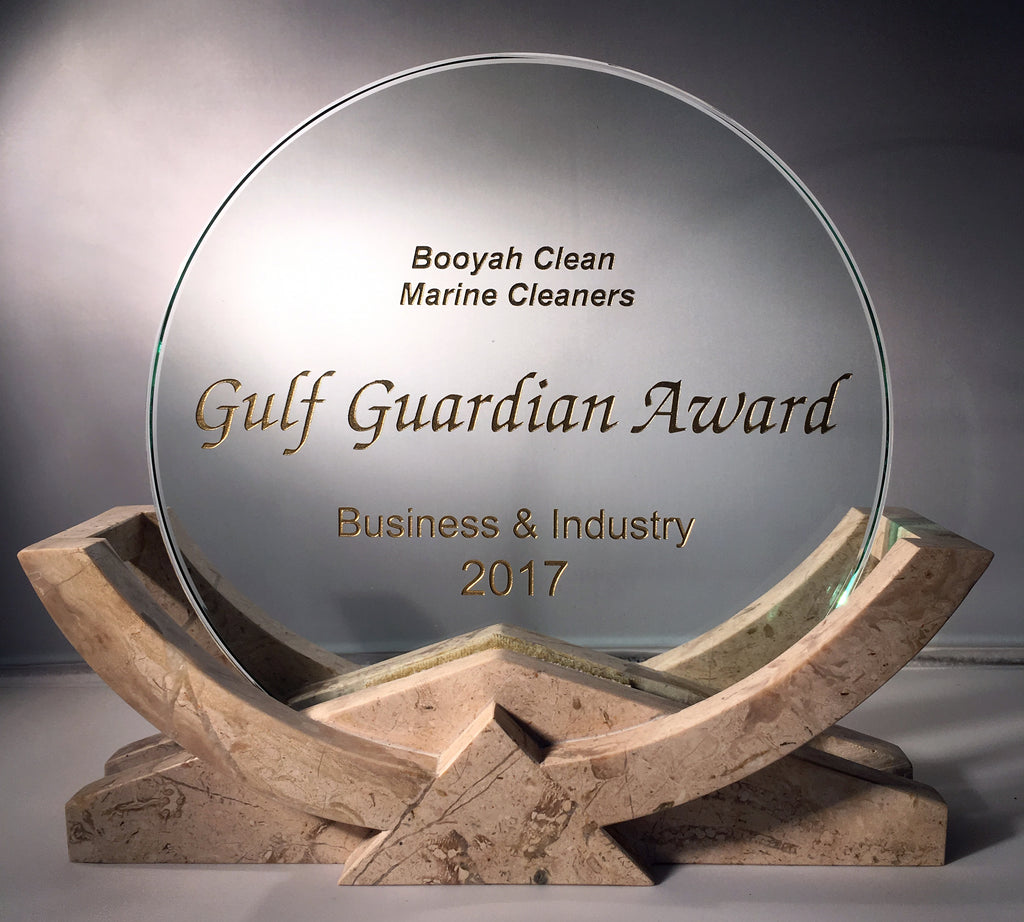 BOOYAH® CLEAN GULF GUARDIAN AWARD - 1ST PLACE BUSINESS AND INDUSTRY