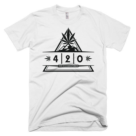 Men's 420 T-Shirt | White/Black