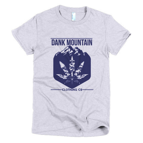 Women's Mountain Blend T-Shirt | Gray/Navy