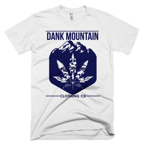 Men's Mountain Blend T-Shirt | White/Navy