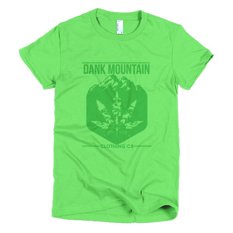 Women's Mountain Blend T-Shirt | Green/Green