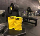 Iron Hos Gear - Yellow Elbow Sleeves (Pair)