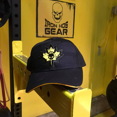 Iron Hos Gear Maple Leaf Patch Cap