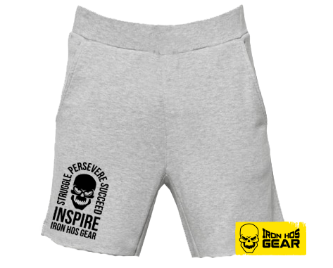 Iron Hos Inspire Shorts - Fleece Grey