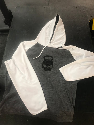 Hostyle Gear OG Hoodie 2 tone White Sleeves