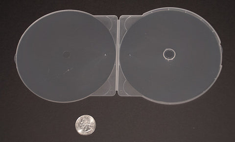 CD Clear Clamshell - 200 Pack