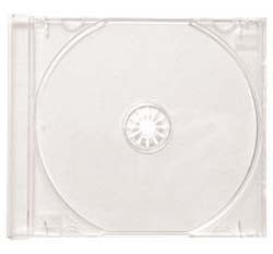 CD Jewel Box Clear Tray - 400 Pack