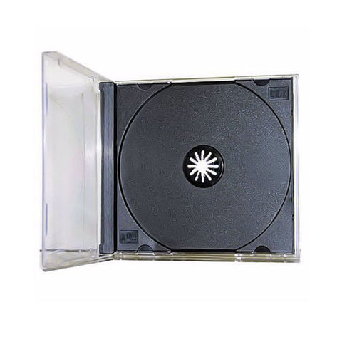 Standard Assembled Jewel Case with Black Tray - 100 Pack