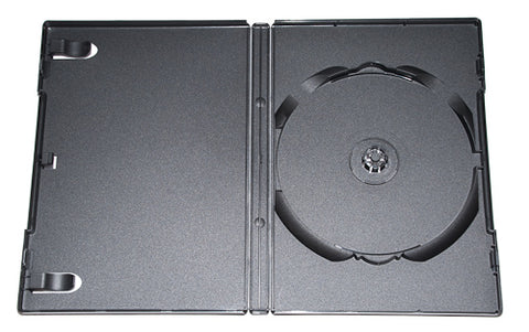 DVD Black Single Tall Box - 100 Pack
