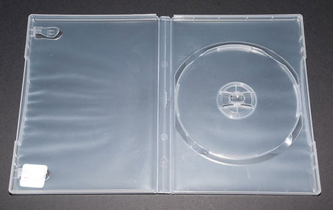 DVD Super Clear Single Case - 100 Pack