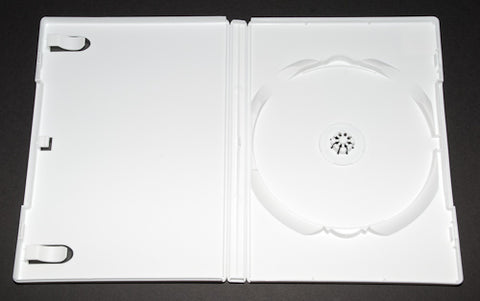 DVD White Single Case - 100 Pack