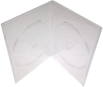 2 DVD Slimline Clear - 100 Pack