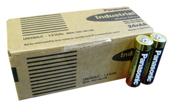 AA Panasonic Industrial Batteries - 24 Pack