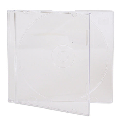 Slim Clear 5.2 MM CD Jewel Case - 200 Pack