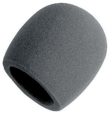 Universal Black Windscreen for Microphone