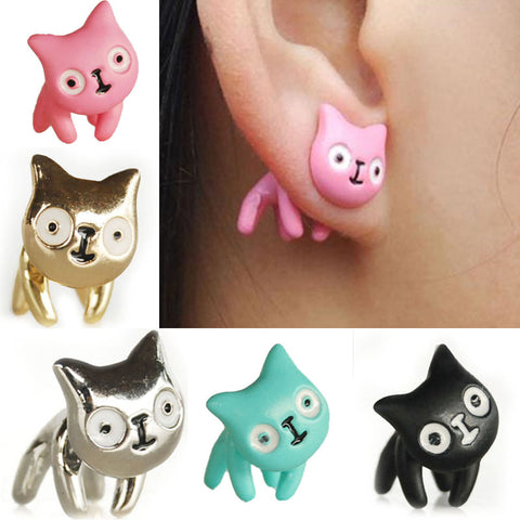 Anime Cat Earrings - Free Shipping - Wondersaleshop
