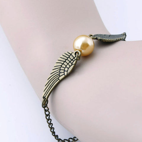 Harry Potter Snitch Bracelet - On Sale - Wondersaleshop