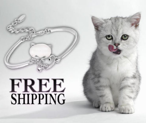 Cute Cat Charm Bracelet ♥Limited Edition♥ - Wondersaleshop