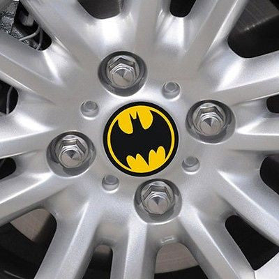 Bat Center Hub Cap Stickers (4 pieces/set) - Wondersaleshop
