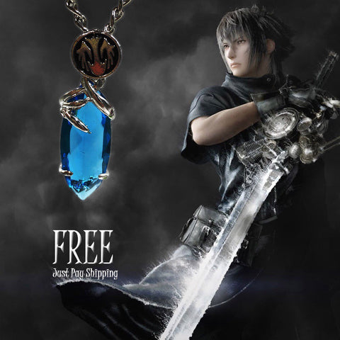 Final Fantasy Blue Stone Necklace - Wondersaleshop
