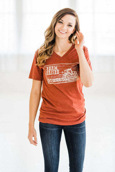 Farm Raised V-Neck Tee