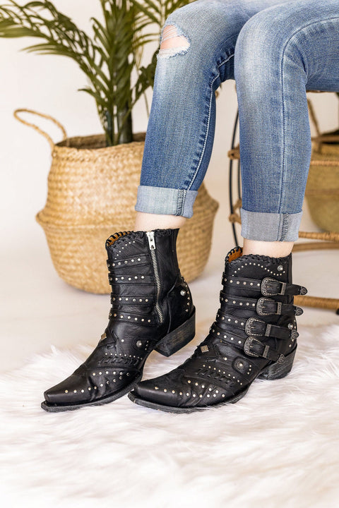 Old Gringo Jaylene Vesuvio Boot in Black
