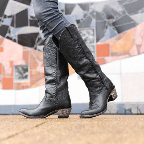 Lane Plain Jane Boot in Black - Rural Haze