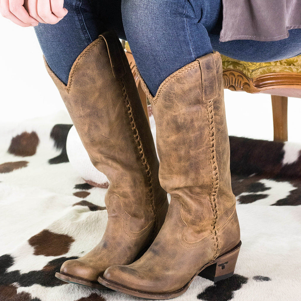 Lane Plain Jane Boot in Brown - Rural Haze